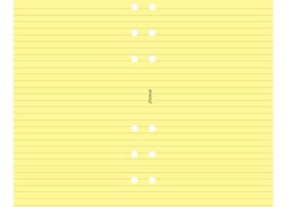 Σημειώσεις Filofax Yellow Ruled Personal