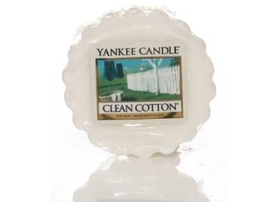 Αρωματικό Κερί - Τάρτα Yankee Clean Cotton