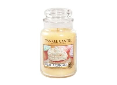 Αρωματικό Κερί σε Γυάλινο Δοχείο Vanilla Cupcake Large