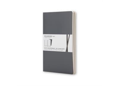 Σημειωματάριο Moleskine Volant Pocket Ruled Γκρι Μαύρο (2 τεμάχια)