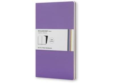 Σημειωματάριο Moleskine Volant Pocket Plain Μοβ (2 τεμάχια)