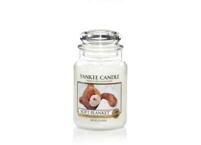 Αρωματικό Κερί σε Γυάλινο Δοχείο Yankee Soft Blanket Large