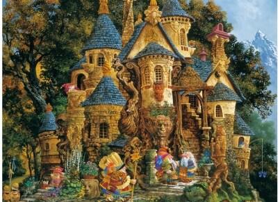 Puzzle Ravensburger Σχολή Μαγείας - 500 κομμάτια