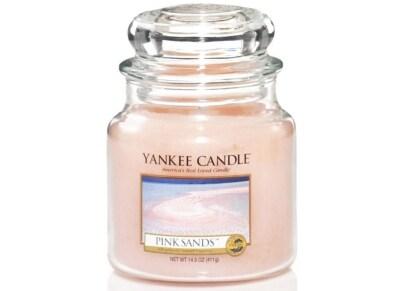 Αρωματικό Κερί σε Γυάλινο Δοχείο Yankee Pink Sands Medium