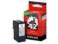 Μελάνι Μαύρο Lexmark 42