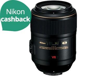 Nikon Micro-Nikkor - Φακός zoom - 105 mm - f/2.8 G ED-IF AF-S VR - Nikon F