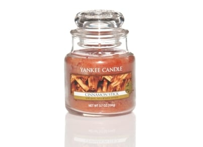 Αρωματικό Κερί σε Γυάλινο Δοχείο Yankee Cinnamon Stick Small