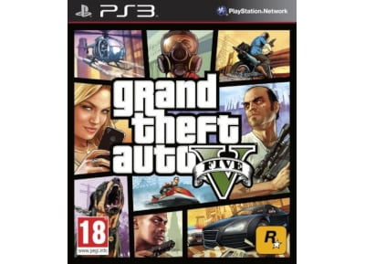 PS3 Used Game: Grand Theft Auto V gaming   used games   ps3 used