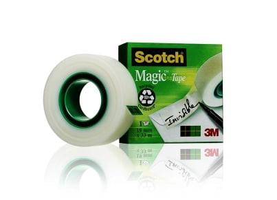 Κολλητική Ταινία 3Μ Scotch Γαλακτερή 19mm x 33m