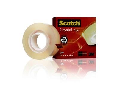 Κολλητική Ταινία 3Μ Scotch Διάφανη 19mm x 33m