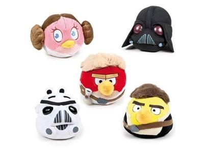 Λούτρινες Φατσούλες Angry Birds Star Wars 16cm - 1 Τεμάχιο