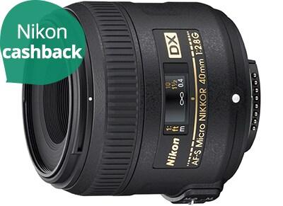 Nikon Lens AF-S DX Nikkor 40mm f/2.8G - Φωτογραφικός Φακός