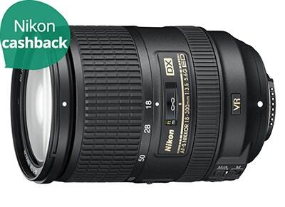Φακός Nikon Lens AF-S DX Nikkor 18 - 300 mm ED VR