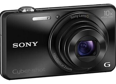 Sony Cyber-shot DSC-WX220 - Μαύρο