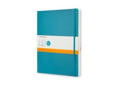 Σημειωματάριο Moleskine Soft Colored - Ruled - Extra Large - Μπλε