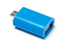 Adapter USB to Micro USB - STORE IT Connect 204 RF02-0011R014J Μπλε