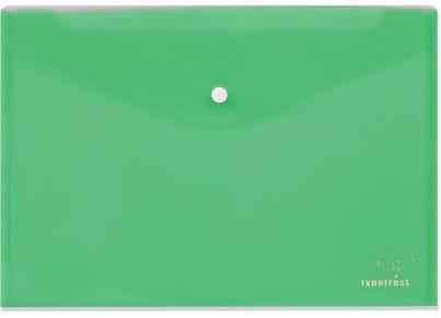 Φάκελος με Κουμπί Typotrust A4 Πράσινος