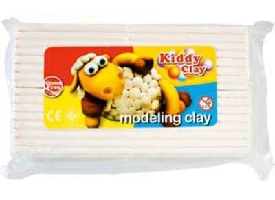 Πλαστελίνη Kiddy Clay Λευκή 500gr