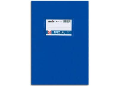 Τετράδιο Λευκό Special Fine 17x25Cm 50 Φύλλα Ανοικτό Μπλε