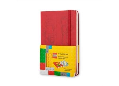 Σημειωματάριο Moleskine LEGO® - Limited Edition - Ruled - Pocket - Κόκκινο