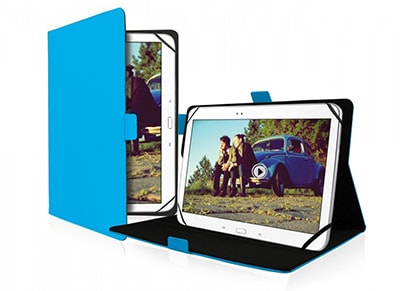 "SBS Book Lite TABOOKLITEUN10B Θήκη Tablet 10"" Μπλε"