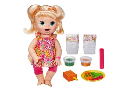 Λαμπάδα Baby Alive My Super Snackin Baby - Hasbro