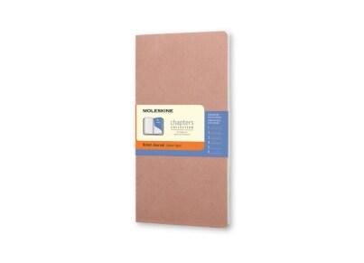 Σημειωματάριο Moleskine Chapters Journal - Ruled - Medium - Ροζ