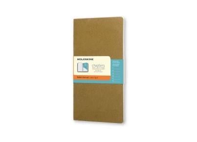 Σημειωματάριο Moleskine Chapters Journal - Ruled - Medium - Πράσινο