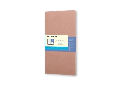 Σημειωματάριο Moleskine Chapters Journal - Dotted - Medium - Ροζ
