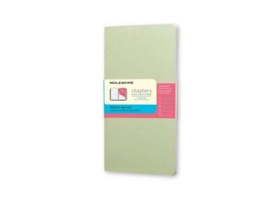 Σημειωματάριο Moleskine Chapters Journal - Dotted - Pocket - Πράσινο