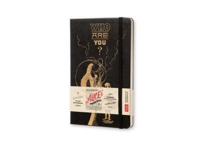 Σημειωματάριο Moleskine Alice - Limited Edition - Plain - Large - Μαύρο