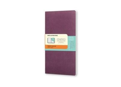 Σημειωματάριο Moleskine Chapters Journal - Ruled - Pocket - Μοβ