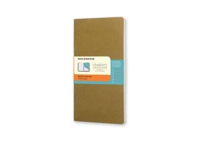 Σημειωματάριο Moleskine Chapters Journal - Ruled - Pocket - Πράσινο