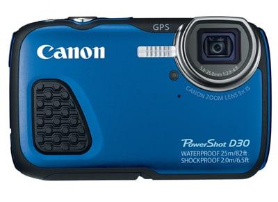 Compact Canon Powershot D30 Αδιάβροχη - Μπλε