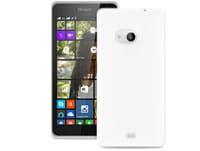 Θήκη & Μεμβράνη Nokia Lumia 535 - Puro Silicon Cover Διαφανές MSLUMIA53503TR