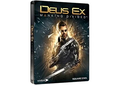 Deus Ex: Mankind Divided Steelbook Edition - PS4 Game