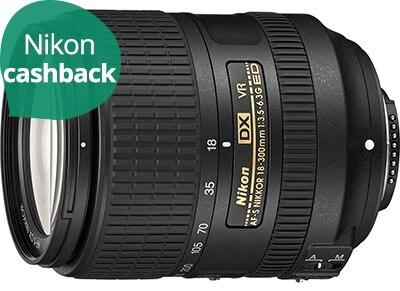 Nikon AF-S DX 18-300mm f/3.5 - 6.3G