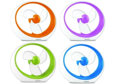 Beper 17162 USB Ανεμιστηράκι Γραφείου - Διάφορα Χρώματα είδη σπιτιού   smartliving   gadgets σπιτιού