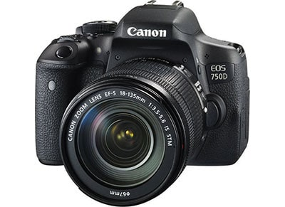 DSLR Canon EOS 750D 18-135mm IS EGP - Μαύρο