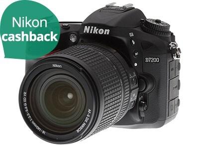 Nikon D7200 Kit 18-105mm VR Μαύρο