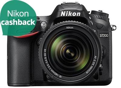 DSLR Nikon D7200 Kit 18-140mm VR Μαύρο