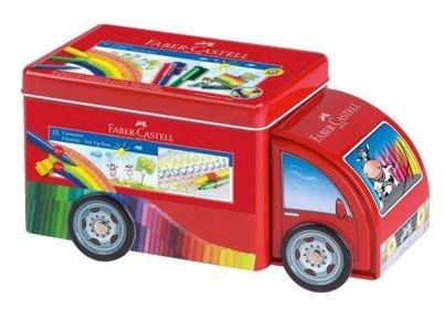 Μαρκαδόροι Ζωγραφικής Connector Κασετίνα Φορτηγό (33 Τεμάχια)