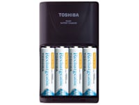 Μπαταρία επαναφορτιζόμενη Toshiba Rechargeable AA 1950mAh BP4 & Φορτιστής