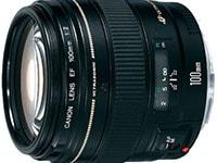 Canon EF 100mm f/2.0 USM - Canon DSLR Lens