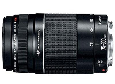 Canon EF 75-300mm f/4.0-5.6 III USM - Canon DSLR Lens