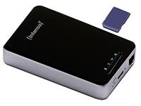 """Εξ. σκληρός δίσκος Intenso 6025860 Memory 2 Move Pro 1TB 2.5"""" USB 3.0 & Ethernet & WiFi Μαύρο"""