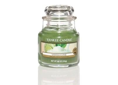 Αρωματικό Κερί σε Γυάλινο Δοχείο Yankee Vanilla Lime Small