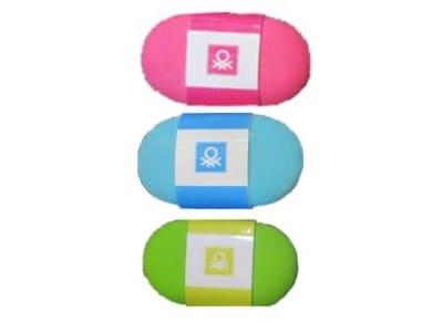 Γόμα Benetton - Διάφορα Χρώματα
