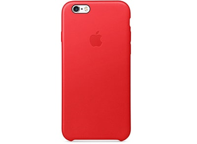 Θήκη iPhone 6S Plus - Apple Leather Case MKXG2ZM/A Red apple   αξεσουάρ iphone   θήκες