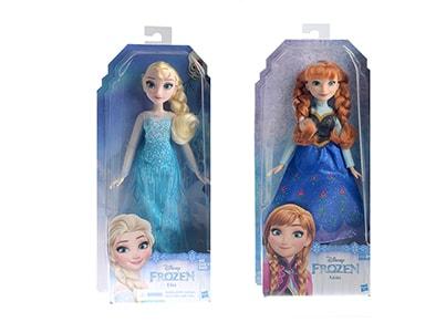 Frozen Κούκλα Classic Doll - 2 Σχέδια - 1 Τεμάχιο
